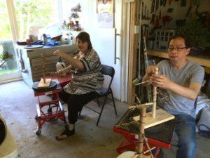 Michelle and Alan Training Nov 2014